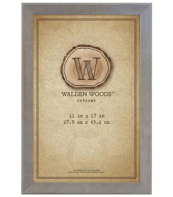 Walden Woods Wall Frame 11X17-Gray