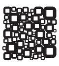 Crafter\u0027s Workshop 12\u0022x12\u0022 Template-Retro Squares