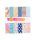 American Crafts Amy Tangerine On a Whim Pack of 48 12\u0027\u0027x12\u0027\u0027 Paper Pad