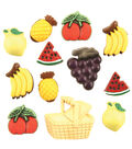 Buttons Galore Fruit Basket Buttons
