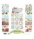Ultimate Crafts 24-sheets 12\u0027\u0027x12\u0027\u0027 Paper Pad-Bohemian Bouquet