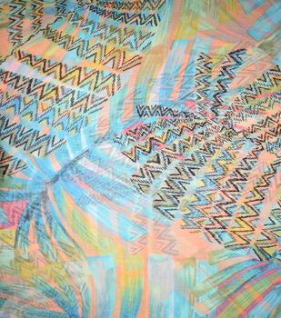 Fast Fashion Yoryu Chiffon Fabric-Begonia Cancun