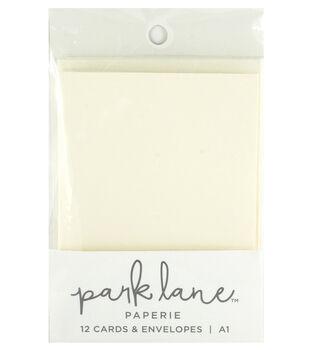Park Lane Paperie A1 Cards & Envelopes-Ivory