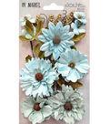 49 And Market Vintage Shades Botanical Blends 23 pk Flowers-Blue