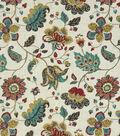 Home Decor 8\u0022x8\u0022 Fabric Swatch-Robert Allen Spring Mix Poppy