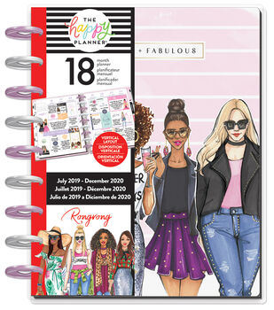 Classic Happy Planner x Rongrong Fierce & Fabulous-18 Months (2019-2020)