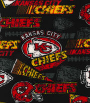 Kansas City Chiefs Fleece Fabric -Retro, , hi-res
