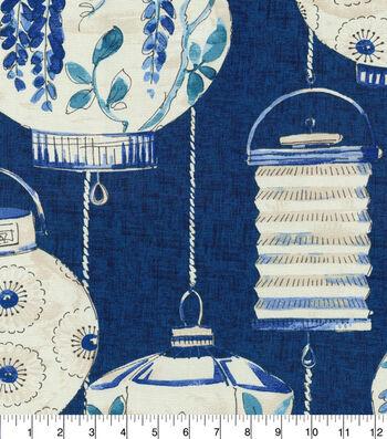 Waverly Multi-Purpose Decor Fabric 54''-Lapis Illuminata