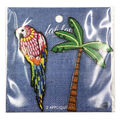Fab Lab Wearables Parrot & Palm Tree Iron-on Appliques