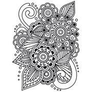Darice Embossing Folder Henna, , hi-res