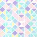 Snuggle Flannel Fabric -Pastel Geometric