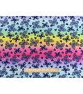Snuggle Flannel Fabric -Butterfly Heart Tiedye