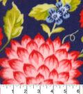 Anti-Pill Fleece Fabric 59\u0022-Juliette Floral