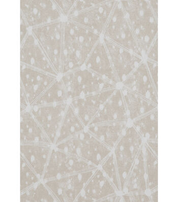 "Nate Berkus Canvas Fabric 54""-Clestre Paramount Pearl Gray"