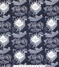 Harry Potter Flannel Fabric 42\u0022-Marauders Map