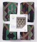 No Sew Fleece Throw Kit 72\u0027\u0027x60\u0027\u0027-Tradtional Aztec