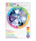 Smart Poly Weather Smart Wheel 13\u0022x19\u0022 Spanish 5pk