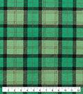 St. Patrick\u0027s Day Cotton Fabric-St Pats Buffalo Plaid
