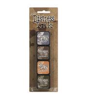 Tim Holtz Distress Mini Ink Pads 4/Pkg-Kit 9, , hi-res