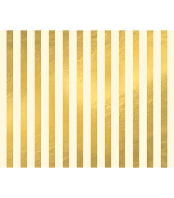 Poster Board-Gold Stripe