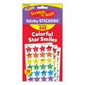 Colorful Star Smiles Stinky Stickers Value Pack 432 Per Pack, 3 Packs