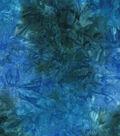 Legacy Studio Batik Cotton Fabric 44\u0022-Blue Tonal