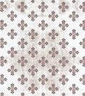 Vintage Cotton Fabric 43\u0027\u0027-Detailed Diamonds on Cream