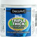 DecoArt Americana 8 fl. oz. Triple Thick Brilliant Brush-on Gloss Glaze