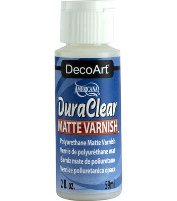 Dura Clear Varnish-Matte-2 Ounces