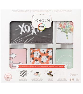 Project Life Rad Edition Emily Merritt 616 pk Core Kit-Project 52