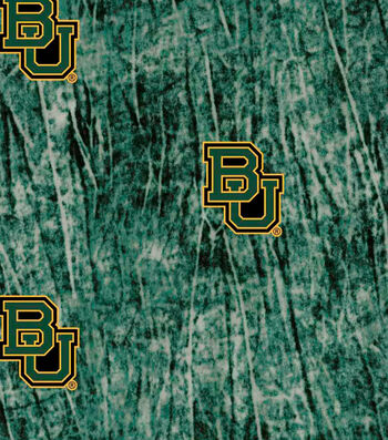 "Baylor University Bears Cotton Fabric 44""-Tie Dye"
