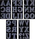 Jolee\u0027s Boutique 32 pk 3\u0027\u0027 Letters Iron-on Transfers-Black