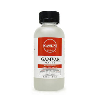 Gamblin 4.2 fl. oz. Gamvar Matte Picture Varnish