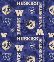 "University of Washington Huskies Fleece Fabric 60""-Digital Camo, , hi-res"