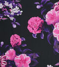 Silky Prints Rayon Fabric 53\u0022-Digital Blooms
