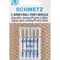 Schmetz 5 pk Ball Point Jersey Machine Needles (Multipack of 10)