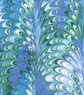 Snuggle Flannel Fabric 42\u0022-Purple Green Paint Swirl