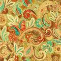 IMAN Home Upholstery Fabric 54\u0022-Fantasy Fun Henna