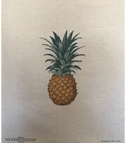 "Square By Design Woven Fabric 25""-Pineapple, , hi-res"