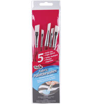 Tulip High-End Sable Brush Assortment-Fabric Paintbrushes, , hi-res