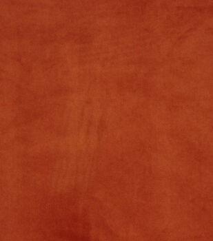 "Hudson 43 Velvet Multi-Purpose Home Decor Fabric 56""-Orange"