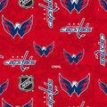 Washington Capitals Fleece Fabric-Digital