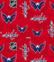 Washington Capitals Fleece Fabric-Digital, , hi-res