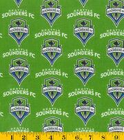 Seattle Sounders Cotton Fabric -Logo, , hi-res