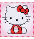 Vervaco Diamond Art Kit 8.75\u0022X8.75\u0022-Hello Kitty