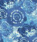Keepsake Calico Cotton Fabric 44\u0027\u0027-Blue Tie Dye