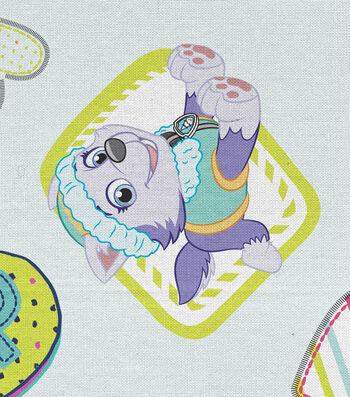 "Nickelodeon Paw Patrol Cotton Fabric 44""-Pawsome Gal Pals"