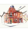 RTO Stamped Cross Stitch Kit 8.25\u0022X6\u0022-Paint By Threads V