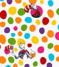 Dr. Seuss Cotton Fabric -Cat & Dots