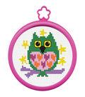 Plaid My 1st Counted Cross Stitch Kit Owl Mini